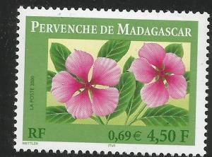 FRANCE 2767, MNH STAMP, PERVENCHE DE MADAGASCAR