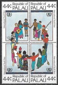 Palau  86-9   MNH  International Youth Year