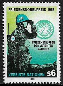UN, Vienna #90 MNH Stamp - Peacekeeping
