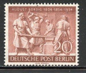 Berlin # 9N112, Mint Hinge. CV $ 6.00