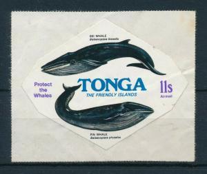 [99394] Tonga 1977 Marine Life Whales Self adhesive From set MNH