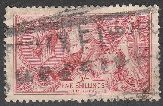 Great Britain #180 F-VF Used CV $125.00  (A12547)