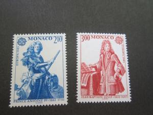 Monaco 1985 Sc 1464-5 set MNH