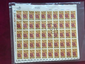 (10) 10 Cent US Stamp Sheets. Beautiful Sheets, Mostly Different. MNH OG