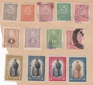 PARAGUAY  ^^^^^x13  mint & used  CLASSICS on page cv@dcc428para