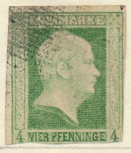 Prussia (German State) Stamp Scott #1, Used - Free U.S. Shipping, Free Worldw...
