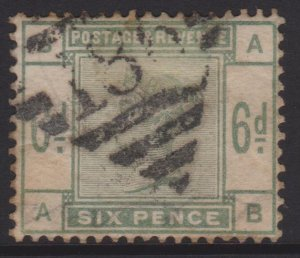 Great Britain Sc#105 Used in Ireland