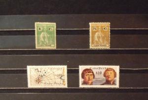 3664   Cape Verde   MH, VF # 146, 159, 277, 278            V$ 6.00