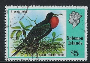 Solomon Islands Scott 331 Used! Bird!