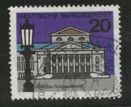 Germany Scott 872 Used 1964 1965 State Capital Stamp HipStamp
