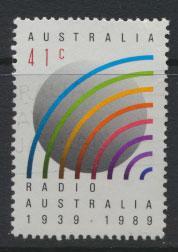 SG 1228  SC# 1162 Used  Anniversary of Radio Australia