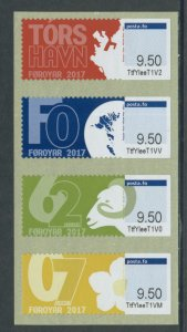 Faroe Islands Frama Labels - 2017  MNH