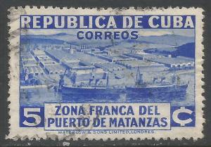 CUBA 327 VFU SHIPS P654-3