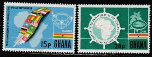 Ghana  257-58  (N**)  1966