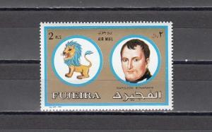 Fujeira, Mi cat. 1315 A. Napoleon Bonaparte value from set. *