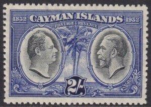 Cayman Islands 1932 SC 78 MLH