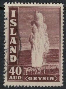 Iceland #206  CV $32.50