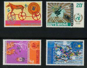 Botswana 96-99 Mint VF NH