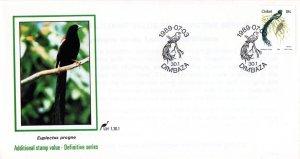 Ciskei - 1989 Birds 18c FDC SG 15b
