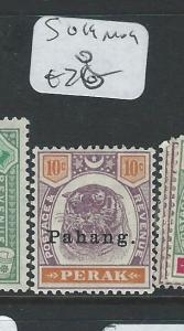 MALAYA PAHANG (P0810B) TIGER HEAD 10C SG 19    MOG