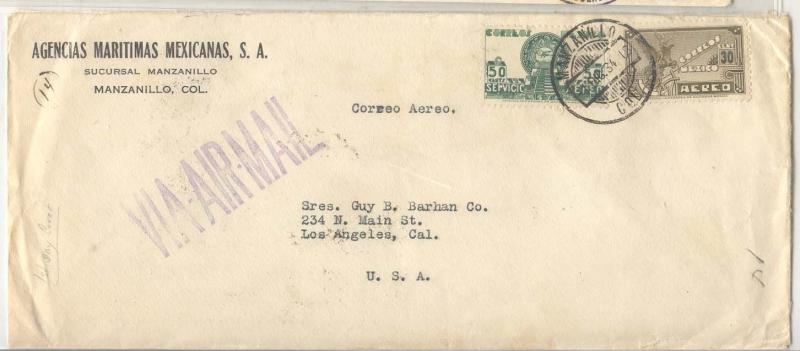 Mexico City C69 + C71 FDC December 1st  1931 (1st Mexico day)