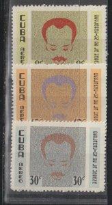 Cuba SC  C219-21 Mint Never Hinged