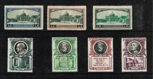 ITALY STAMP VATICAN MINT STAMP COLLECTION LOT #T1