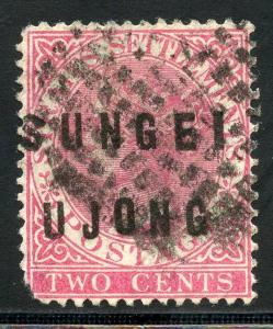 MALAYA SUNGEI UJONG SCOTT# 15 USED AS SHOWN AND DESCRIBED