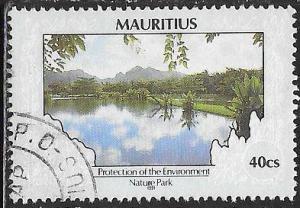 Mauritius 685 Used -Environmental Protection