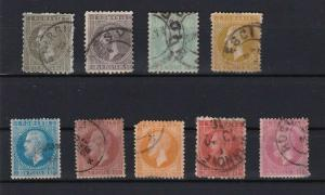 ROMANIA  1872 STAMPS CAT £175 + SOME FAULTS    R3135
