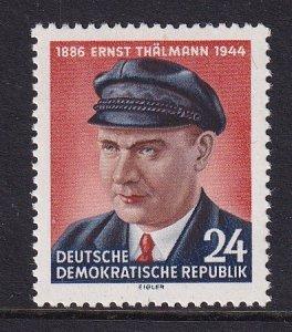 German Democratic Republic   DDR   #213  MNH 1954  Thalmann