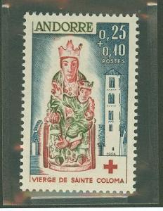 Andorra French B1 Mint VF NH