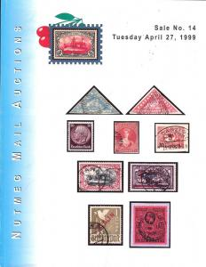 Nutmeg Stamp Sales - Great Britain & Commonwealth and For...