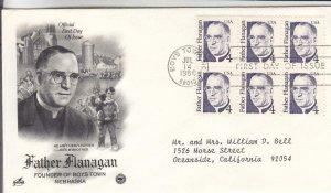 1986, Father Flanagan, Artcraft/PCS, FDC (E8171)