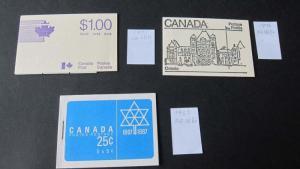 Booklet Canada 3 books