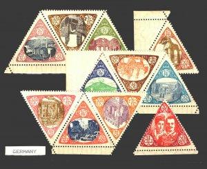 1908 SICILIA CALABRIA RELIEF FUND / Complete set (44) MNH / Lot 1219169