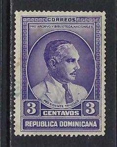 DOMINICAN REPUBLIC 313 VFU O801-2