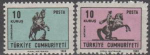 Turkey #1790-91  MNH F-VF   (SU1502)