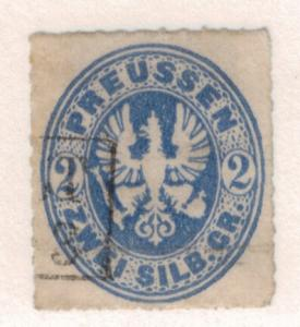 Prussia (German State) Stamp Scott #19, Used - Free U.S. Shipping, Free World...