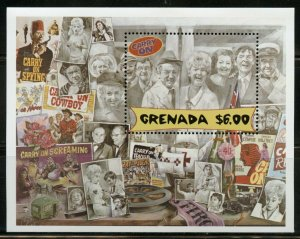 GRENADA CARRY ON LAUGHIN  SOUVENIR SHEET MINT NEVER HINGED