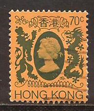 Hong Kong  #  394  used