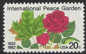 # 2014 - Int. Peace Gardens - MNH