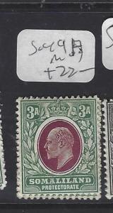 SOMALILAND  (PP1210B)  KE  3A   SG 49A      MOG