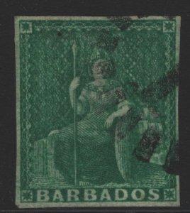 Barbados Sc#5 Used