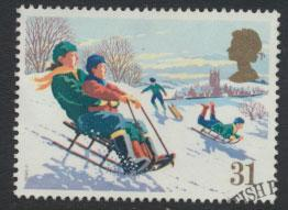 GB SG 1529 SC# 1343 - Used First Day Cancel - Christmas
