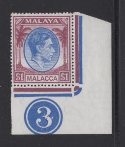 Malaya Malacca - 1949 - SG 15 - MNH