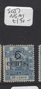 NORTH BORNEO  (PP1912B)  6C/10C ARMS, LION  SG 57   NGAI