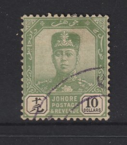 Johore an early used?? 10$