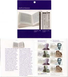 Canada - 2003 Authors Complete Booklet #BK274b