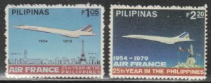 Philippines #1438-1439 MNH Full Set of 2